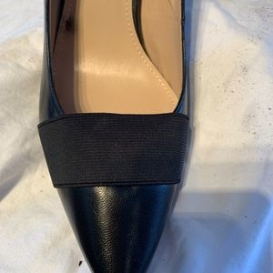 """14th & Union Shoes - New Black 3-1/2"""" leather pump"""